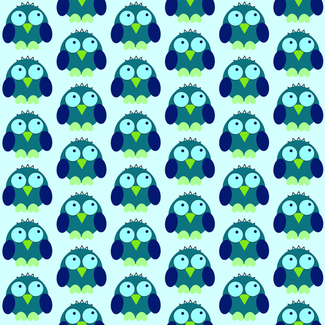 lil owly fabric by tiffany_r on Spoonflower - custom fabric