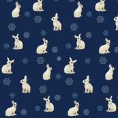 Snowshoe Hare, Navy