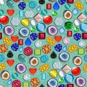 All Sorts Gems Geodes, Aqua