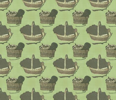 Woolen Knitin' n Kittens - moss