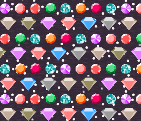 Jewels Box fabric by mrshervi on Spoonflower - custom fabric