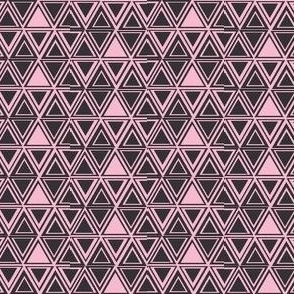 Pink Black Triangles