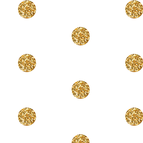 Polka Dot in Gold Glitter fabric by sparrowsong on Spoonflower - custom fabric