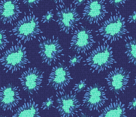 crystallized fabric by theinklab on Spoonflower - custom fabric