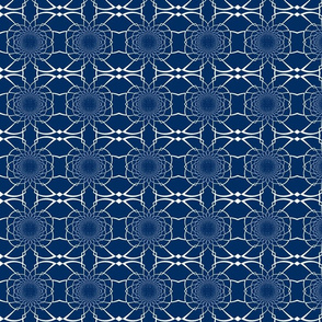 Medium Navy Pattern