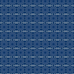 Small Navy Pattern