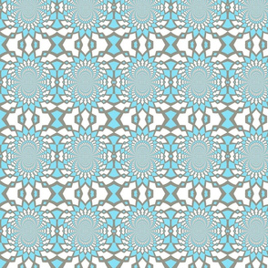 Medium Blue Pattern