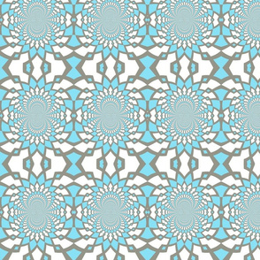 Large Blue Pattern