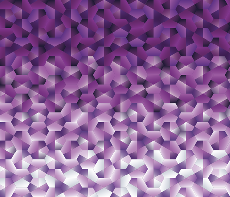 Amethyst Geodes Abstract fabric by juliesfabrics on Spoonflower - custom fabric