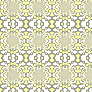 Large Yellow Pattern