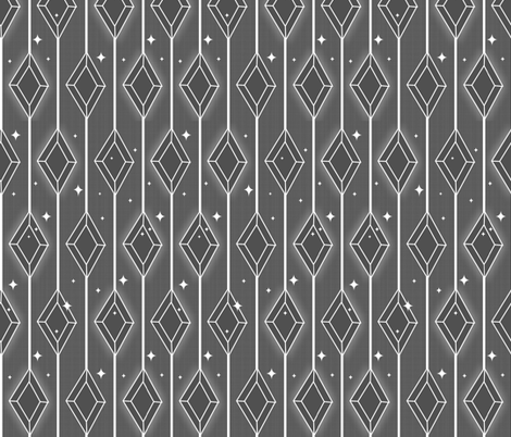 Sparkling Diamonds - Charcoal fabric by jbhorsewriter7 on Spoonflower - custom fabric