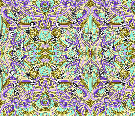 Million Dollar Oopsie fabric by edsel2084 on Spoonflower - custom fabric
