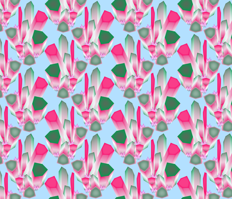 tourmaline fabric by chesapeaketess on Spoonflower - custom fabric