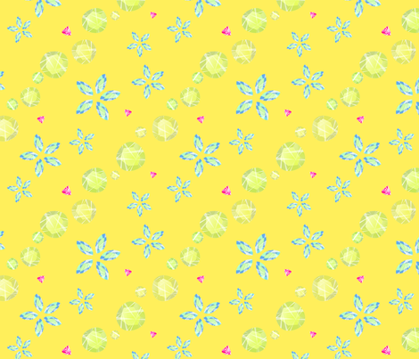 Tropical_Jewels fabric by konk_press on Spoonflower - custom fabric