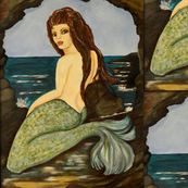 Cave Dweller Mermaid