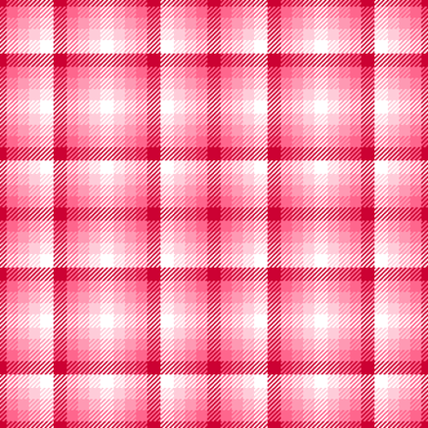 tartan - valentine fabric by sef on Spoonflower - custom fabric