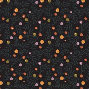 Olive Leaves Dark
