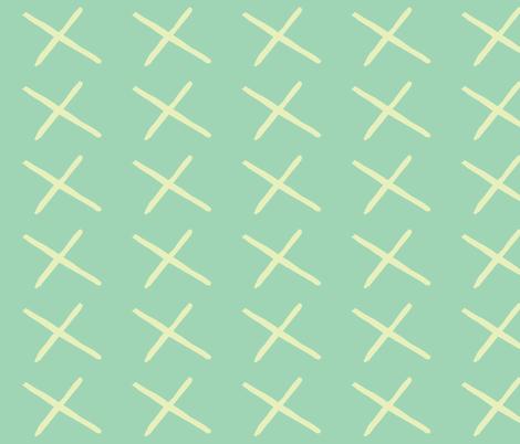 x fabric by shy_bunny on Spoonflower - custom fabric
