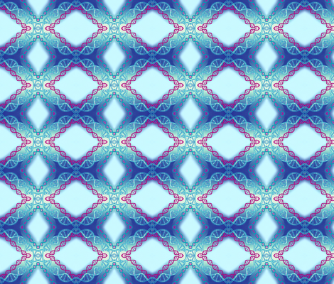 DNA Diamonds fabric by robin_rice on Spoonflower - custom fabric