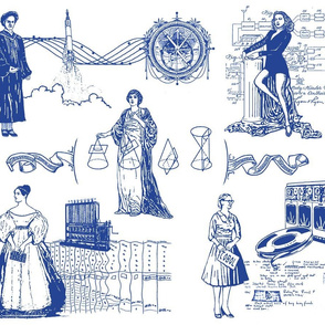 Women of Computer Science - Toile