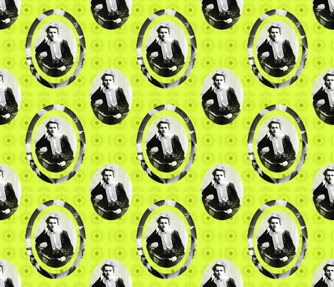 Marie Curie fabric by tony1985 on Spoonflower - custom fabric