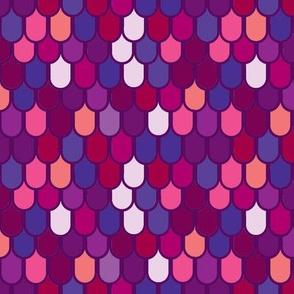 Fantasy scales- purples