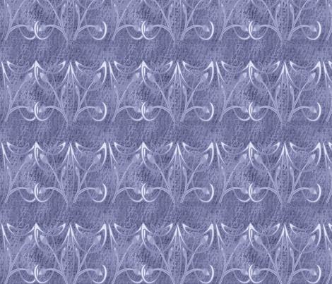 BLUE FLOURISH fabric by bluevelvet on Spoonflower - custom fabric