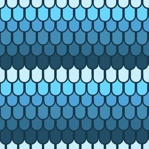 Blue fantasy scales