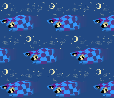sleepy_time fabric by roxiespeople on Spoonflower - custom fabric