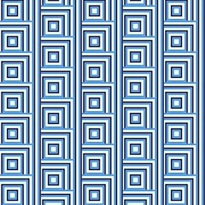 magic blue squares