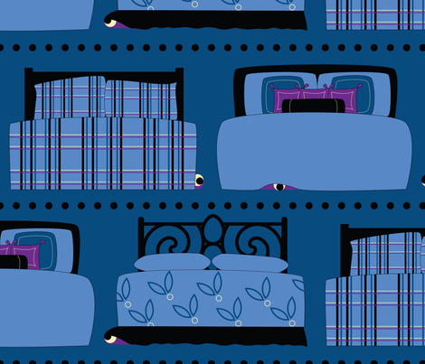 ready for bed? fabric by melhales on Spoonflower - custom fabric