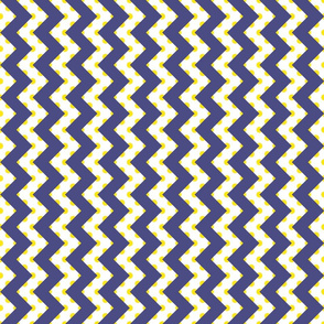 Polka Under Chevrons