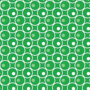 Circle and a Dot - Green