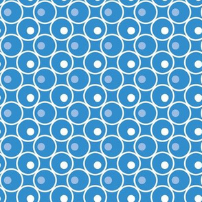 Circle and a Dot - Aqua