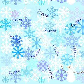 Frozen Winter Wonderland