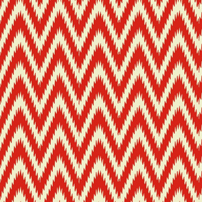 Tribal Ikat Chevron