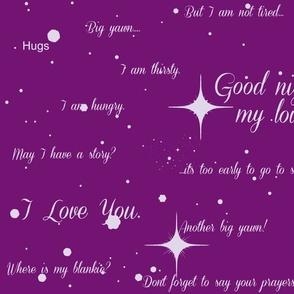 Good Night, My Love-ch-ch-ch