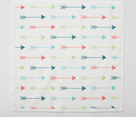 Colourful Arrows Horizontal
