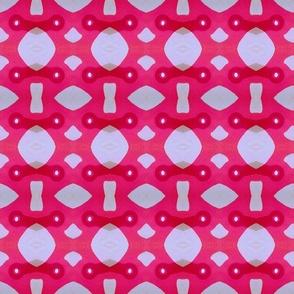Pink flower shadow8