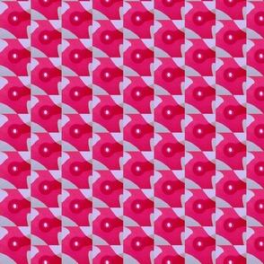 Pink flower shadow7