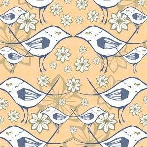 Peachy Sparrows