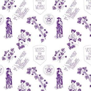 A Suffragette Toile
