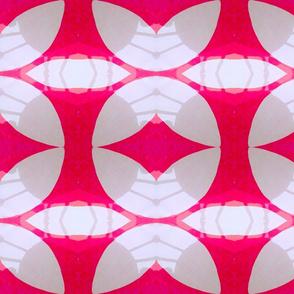 Pink flower shadow3