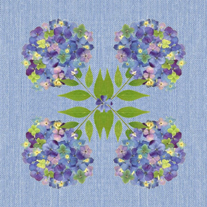 Hydrangea Napkins