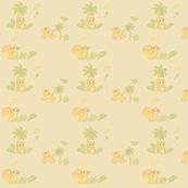 Baby simba quilt