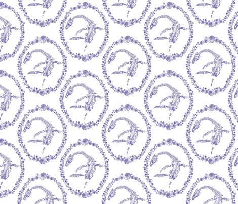 Devil's fingers, snake stones and verteberries fabric by moirarae on Spoonflower - custom fabric