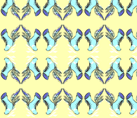 Wing Splash fabric by menny on Spoonflower - custom fabric