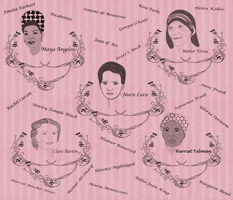 Unshrinking_Violets fabric by marygrace on Spoonflower - custom fabric