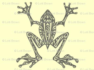 Fabulous Frogs - Pistachio