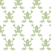 Fabulous Frogs - Soft Green
